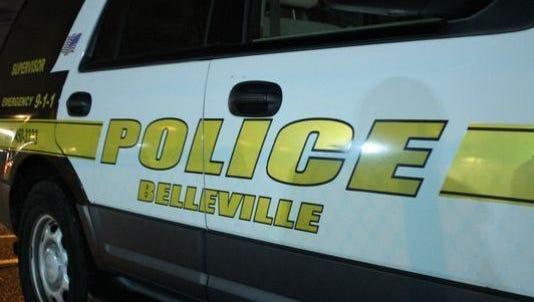 A Belleville Police SUV.