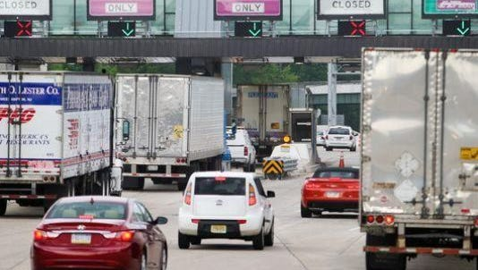 Delaware tolls, including the plaza on I-95, served more vehicles during the Labor Day weekend holiday than last year.
