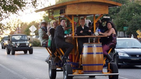 West Lafayette is considering regulations for pedal pubs.