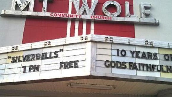 """The Mount Wolf theater has a newer use. It is now used as a church. The last movie shown there, in 1984, was """"E.T. The Extra Terrestrial."""""""