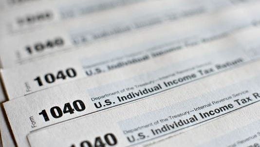Individual income tax forms.