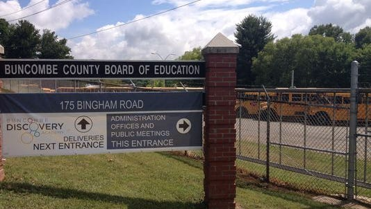 Buncombe County Board of Education offices.