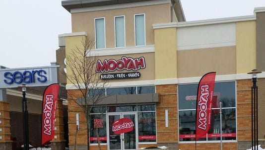 The owner of the now-closed Mooyah restaurant at Brookfield Square has filed for bankruptcy.