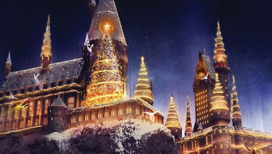 Spend Christmas at Harry Potter's Wizarding World