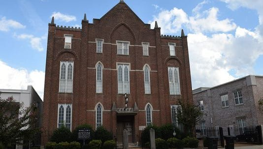 The Hiram Masonic Lodge is one of the oldest structures in Franklin.