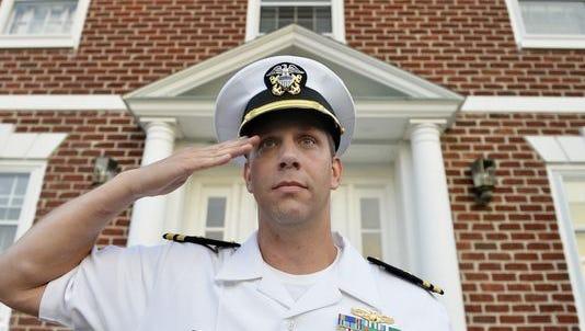 Navy Lt.  Cmdr. Joshua Corney