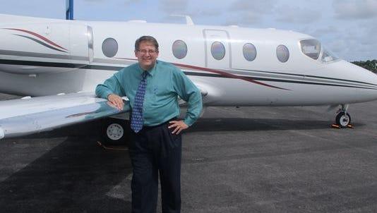 Former Martin County airport manager Erik Treudt.