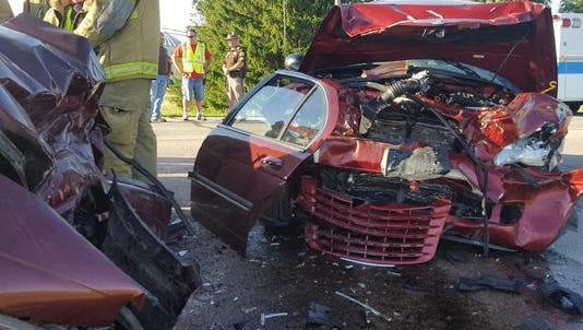 A Lynn woman was killed and three other people injured in a head-on collision on Ind. 32 near Parker City on June 27, 2016
