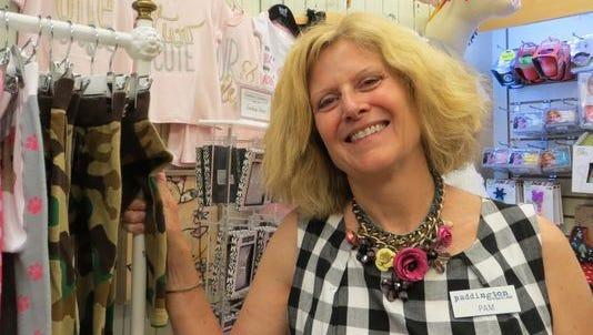 Pam Hammond is seen in her successful retail enterprise Paddington Station.
