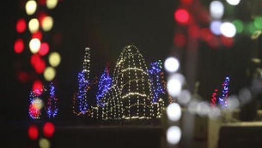 Lights Under Louisville at the Mega Cavern