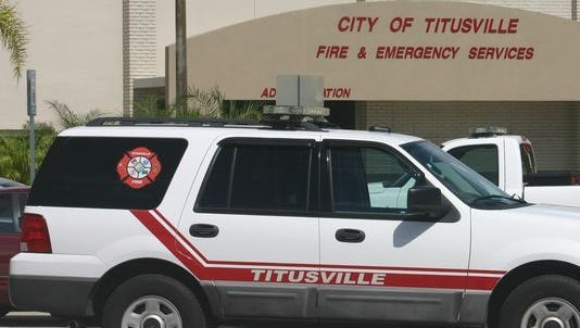 Titusville's Fire & Emergency Services Department