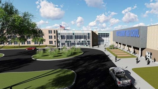 Rendering of West Clermont High School