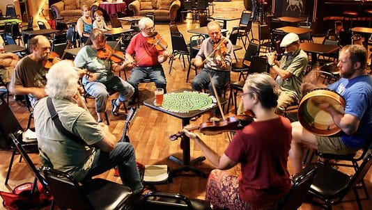 In true pub fashion, the White Horse has hosted a traditional Irish style session every Tuesday night for years.