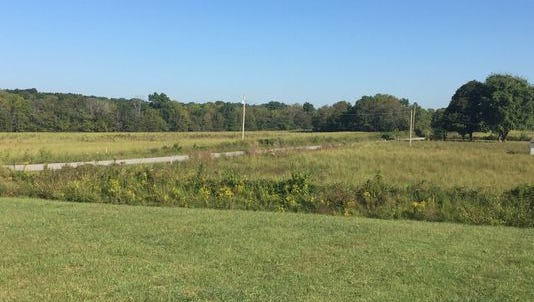 Property near State Route 109 in Wilson County that Lebanon has taken steps toward annexing and zoning for a large-scale residential development.