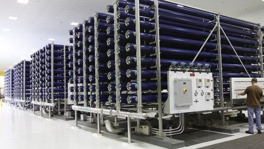 Today, the Cape's two reverse osmosis water treatment plants produce 30 million gallons of drinking water daily.