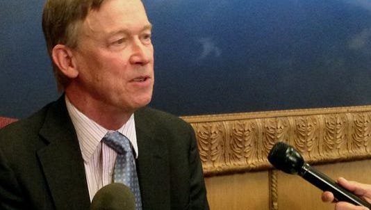 """Colorado Gov. John Hickenlooper called this year's session """"remarkable."""""""