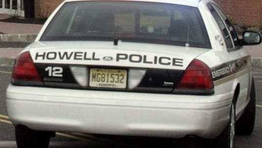 Howell Township police cruiser.