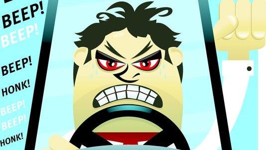 Road rage.