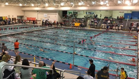 Middle Atlantic Junior Olympic Swimming is among events York County Convention & Visitors Bureau attributes to York County's ranking in visitors spending. (York County CVB/photo)
