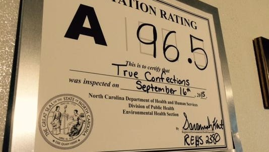 The Buncombe County Health and Human Services department regularly inspects restaurants and issues sanitation grades.