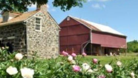 The George Spangler Farm in Gettysburg.