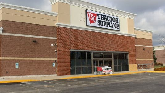 Tractor Supply Co. is expected to open in Canton by the end of the first quarter in 2019.