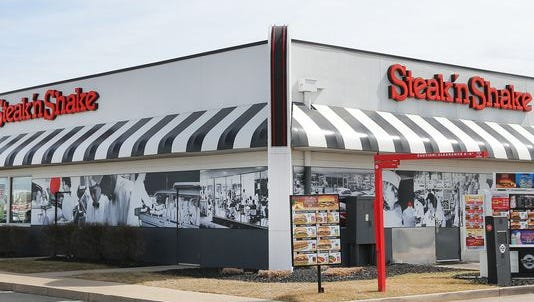 A Steak 'n Shake restaurant in Indianapolis.