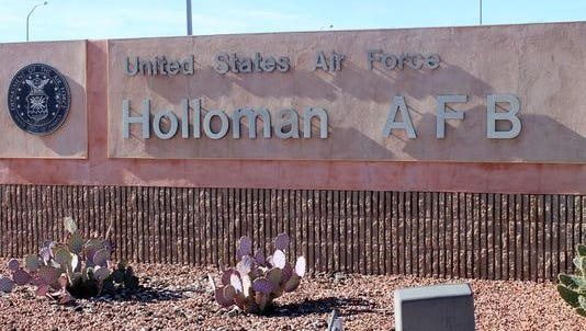 Holloman Air Force Base in New Mexico.