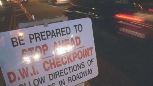 You have been warned: DWI checkpoints will be set up in Wall Township and Allenhurst this weekend to be on the lookout for drunken drivers.  .