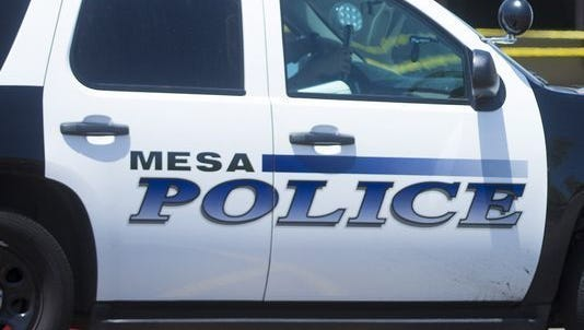 One person is dead and four people were injured ina two-vehicle crash in Mesa, officials said.