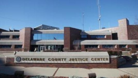 The Delaware County Justice Center.