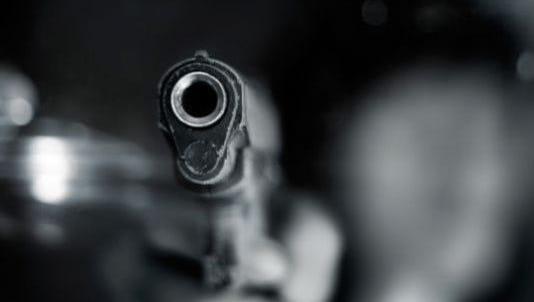 Image of a semiautomatic handgun