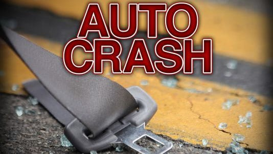 Two teens were hospitalized after their vehicle crashed with a semi along Ohio 2 on Monday evening.