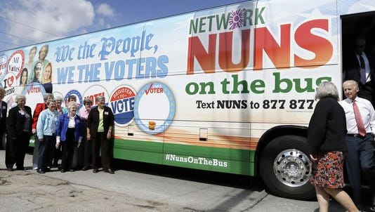 Nuns on the bus