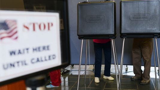 State elections officials have extended voting in one county.