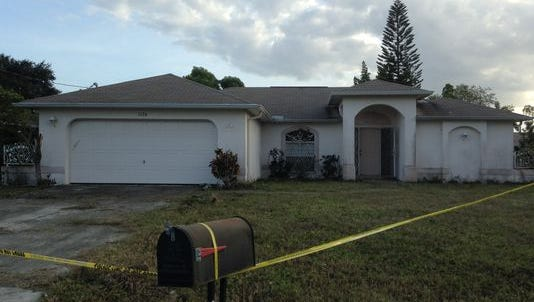 A body was found in this home a day after the house was purchased at auction.