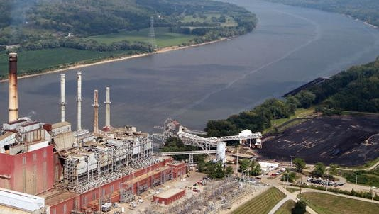 A chemical leak occurred at Duke Energy's Clermont Co. plant Monday night.