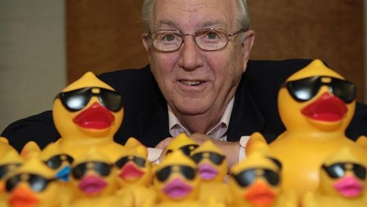 Bob Edwards, founder of the Rubber Duck Regatta, was killed on the interstate Oct. 16.