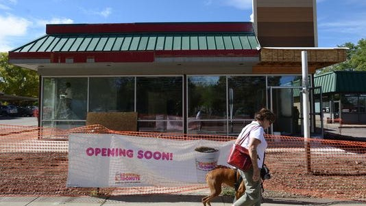 Dunkin' Donuts is set to open Oct. 27