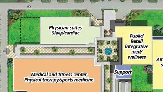 Lee Memorial Health System's proposed south Lee medical campus.