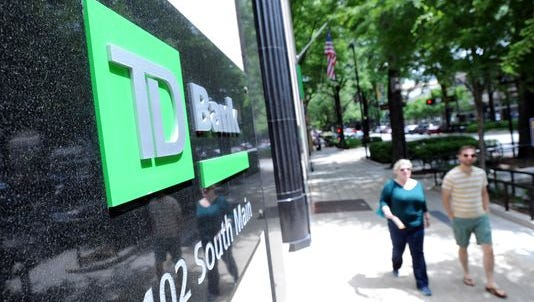 """TD Bank was named the """"best big bank in America"""" by Money Magazine."""