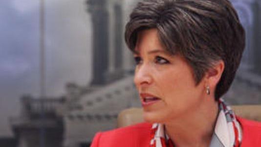 Iowa state Sen. Joni Ernst, a Republican