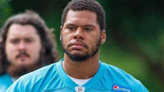 Former Carolina Panther Andrew McDonald, an offensive tackle signed by the Colts this week, has been through some tough times. He was diagnosed with testicular cancer in May and also went through alleged bullying in the locker room when he was with the Miami Dolphins.