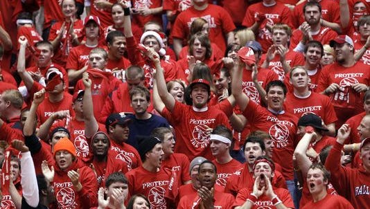 The energy of thousands of students cheering on Ball State University basketball has a positive impact on the connection those students have to the university, BSU officials say.