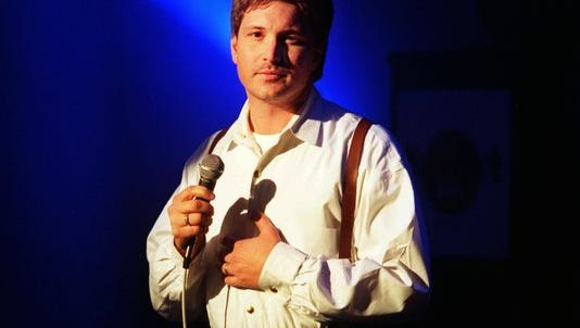 Country singer Ty Herndon, shown during a performance at the Hard Rock Cafe in Dallas, in the mid-'90s.