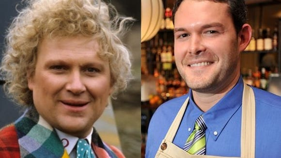 Colin Baker, left, and Charles Morgan.