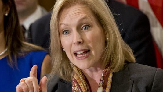 Sen. Kirsten Gillibrand, D-N.Y., wants military prosecutors, rather than commanders, to investigate sexual assaults.
