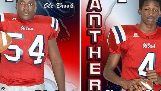 Javonta Dickey and Shaquan Richardson were killed in a crash Tuesday night.