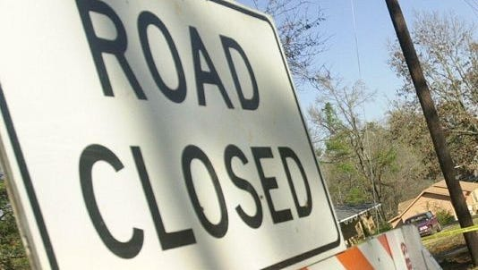 The Bayou Portage Bridge will be closed until further notice.