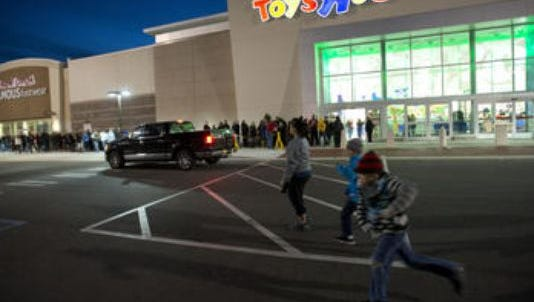 Be sure to stay safe as you go out for Black Friday shopping.